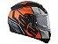 Capacete LS2 Ff397 Vector FT2 Kripton Matte Black Orange  - Imagem 3