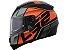 Capacete LS2 Ff397 Vector FT2 Kripton Matte Black Orange  - Imagem 1