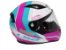 Capacete LS2 FF353 Rapid Candie White Pink Ligth Blue - Imagem 1