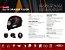 Capacete Shiro Sh-600 Elite Preto Fosco Laranja Fluor - Imagem 7