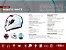 Capacete Shiro Sh-600 Robotic Branco Vermelho Azul - Imagem 7
