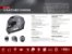 Capacete Shiro Sh-600 Scratched Chrome - Imagem 7