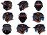 Capacete Norisk Darth Outline Titanium Orange - Imagem 6