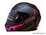 Capacete Norisk FF391 Squalo Matte Black Pink - Imagem 1
