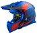 CAPACETE LS2 MX437 ALPHA MATTE BLUE - Imagem 1