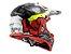 Capacete Ls2 MX437 Crusher Black Red - Imagem 3