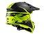 Capacete Ls2 MX437 Roar Matte BlackYellow - Imagem 3