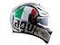 Capacete Agv K3 SV Scudetto Matte Silver - Imagem 3