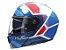 Capacete Hjc I90 Hollen Azul - Imagem 6