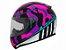 Capacete Ls2 Ff353 Rapid Bravado Pink Camo Blue - Imagem 1