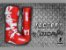 Bota Ims Factory Vermelha Branca Solado Injetado Lançamento 2020 - Imagem 8