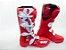 Bota Ims Factory Vermelha Branca Solado Injetado Lançamento 2020 - Imagem 1