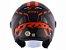 Capacete Norisk Orion Start Matte Black Orange  - Imagem 4