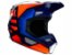 Capacete Fox MX V1 Mvrs Prix Orange Blue - Imagem 3