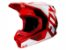 Capacete Fox Mx V1 Mvrs Prix Flame Red - Imagem 1