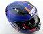 CAPACETE LS2 FF353 RAPID SLIDE Azul Fosco e Vermelho - Imagem 7