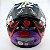 CAPACETE LS2 FF358 PIGMENT PRETO FOSCO E ROXO - Imagem 4