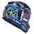 CAPACETE LS2 FF320 STREAM WARRIOR BLUE - Imagem 2
