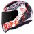 CAPACETE LS2 FF353 NAUGHTY WHITE RED  - Imagem 1