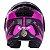CAPACETE LS2 FF902 SCOPE MASK BLACK PINK  - Imagem 4