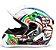 CAPACETE FW3 GT TURBO BRANCO - Imagem 1