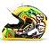 CAPACETE FW3 GT TURBO AMARELO  - Imagem 1