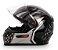 CAPACETE FW3 GT5 PRETO COM GRAFITE  - Imagem 1