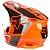 Capacete Fox Mx V1 Mips Revn Flo Orange - Imagem 5
