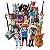 Playmobil Coleção Completa Com 12 Bonecos Da Série 16 - Imagem 1