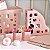 Kit Ambiente 4 Em 1 Rosa Claro Dello - Imagem 2