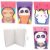 Caderno Grampeado Pautado A5 Animais Cute Sortido 32 Folhas - Imagem 1