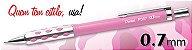 Lapiseira P367-P 0,7Mm Rosa Pentel - Imagem 1