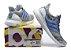 Tênis Adidas Ultra Boost - Feminino - Cinza/Azul Claro - Imagem 4