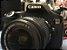 Canon 60d + 18-135mm + 2 Baterias + Carregador + Cartão 16gb (USADA) - Imagem 1