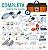 Bolsa Resgate Azul e Laranja Completa Tamanho G + Laringoscópio - Imagem 2