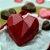 Forma de Acetato Com Silicone (3 Partes) Coração Lapidado 200g - Bwb - Imagem 2