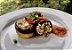 27 -Berinjela grelhada recheada com ricota, brócolis e purê de batata-doce - refeição congelada - Imagem 1