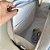 Bolsa Maternidade Média Linho cru com Azul bebe gold - Imagem 3