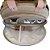 Bolsa Maternidade Média Mescla Bege com rose - Imagem 3