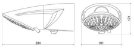 Ducha Top Jet Eletrônica 7500W 220V Lorenzetti - Imagem 3