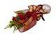 Ramalhete De 4 Rosas e Raffaello - Imagem 1