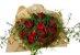 Buquê de 24 Rosas Vermelhas - Imagem 1