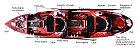 Caiaque New Foca Standard (Duplo) - Imagem 2