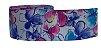 Fita de Gorgurão Floral Aquarela 9334 - Imagem 1