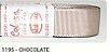 Fita de Gorgurão Lisa 1195 Chocolate - Imagem 1
