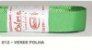 Fita de Gorgurão Lisa 012 Verde Folha - Imagem 1