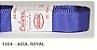 Fita de Gorgurão Lisa 1654 Azul Royal - Imagem 1