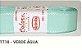 Fita de Gorgurão Lisa 1718 Verde Água - Imagem 1