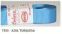 Fita de Gorgurão Lisa 1723 Azul Turquesa - Imagem 1