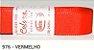 Fita de Gorgurão Lisa 976 Vermelho - Imagem 1